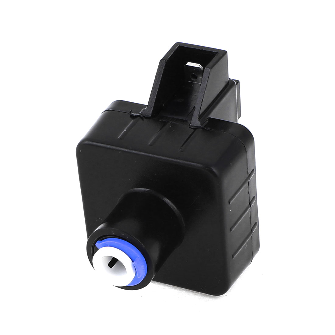 "1/4"" Tube OD Quick Connect Water Low Pressure Switch Black DC 24V"