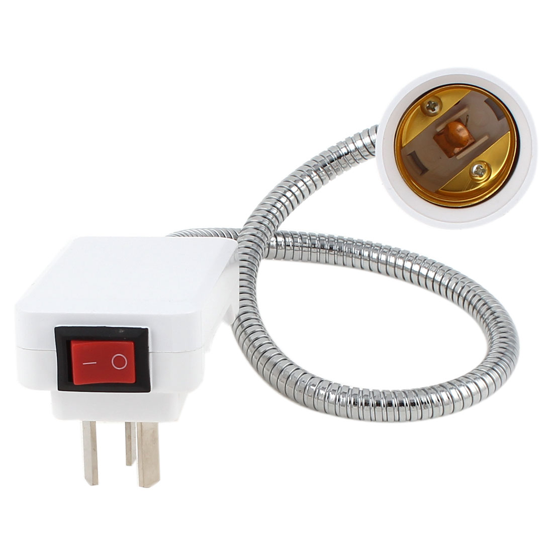 AU Plug AC 250V 13A 40cm Flexible Neck E27 Adapter Socket Light Lamp Bulb Holder Switch