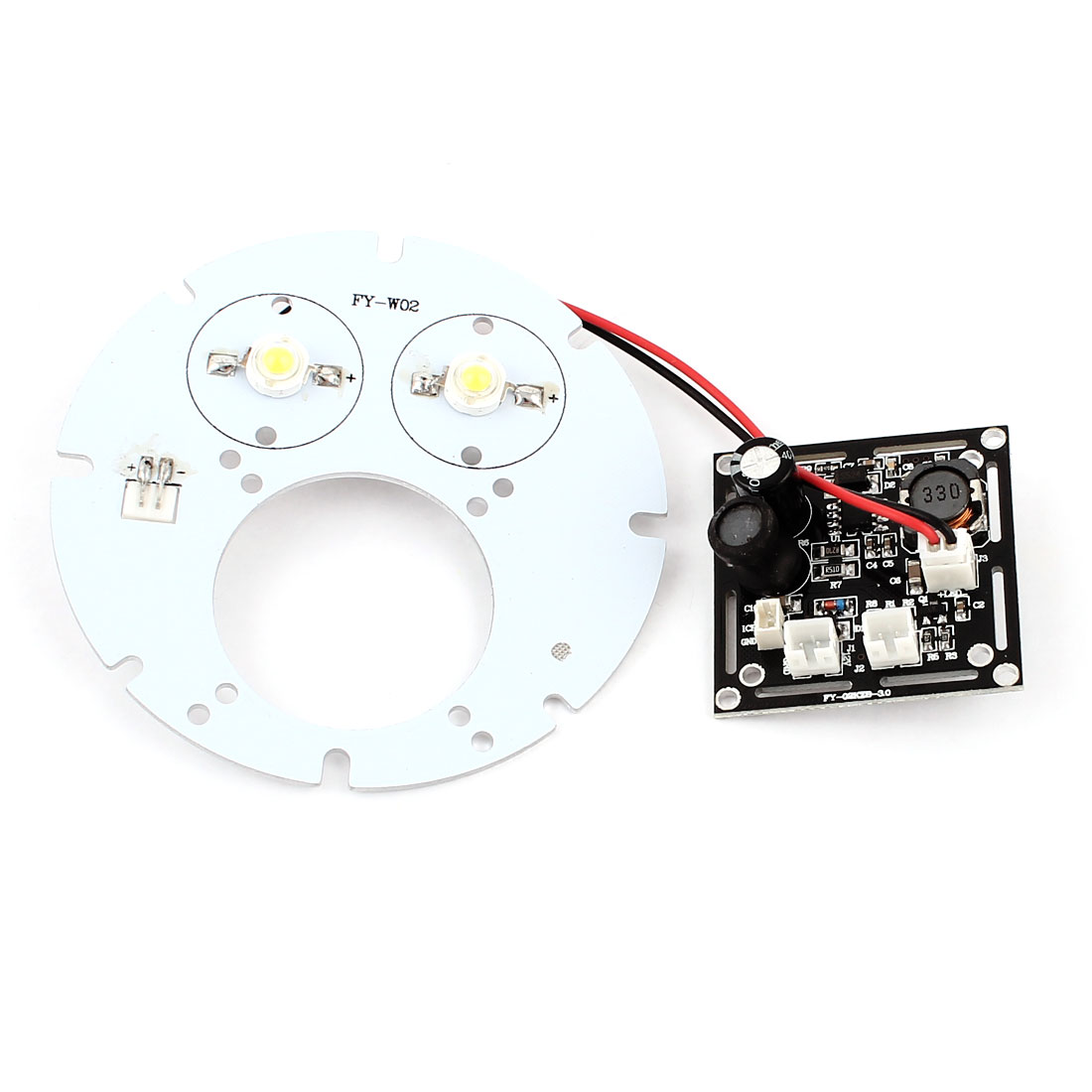CCTV Security Camera 35mil 2 Array White 2 LED Light Illuminator Bulb Board