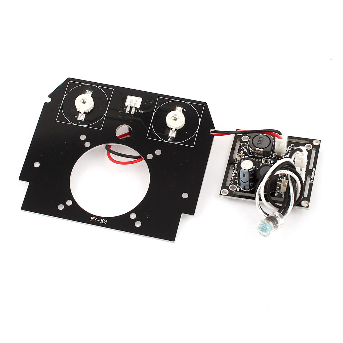 42mil Red 2 LED Array Infrared IR Lamp Bulb Board Plate for CCTV Security Camera