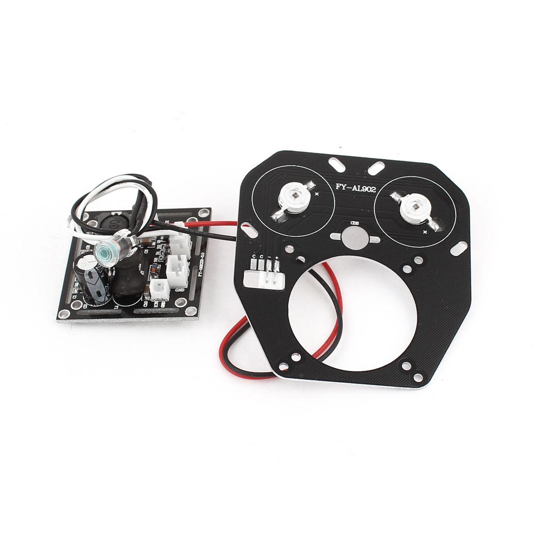 42mil Double Array LED IR Bulb Board Plate for CCTV Security Surveillance Camera