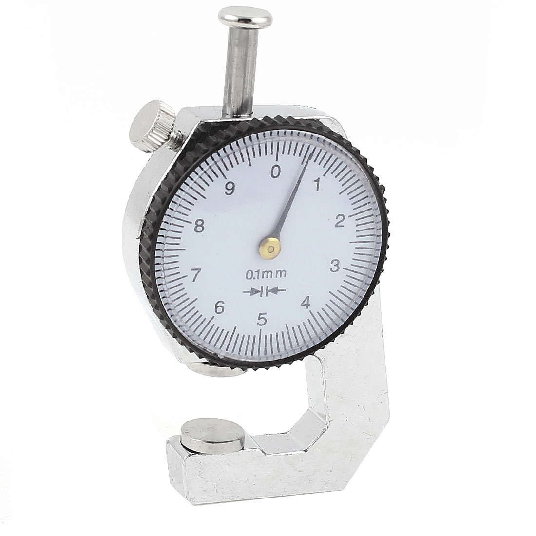 Measuring Tool 0 to 10mm Dial Indicator Pocket Thickness Gage Gauge