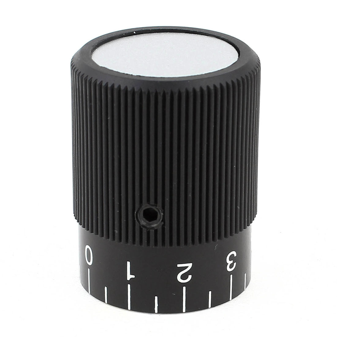 Mechanical 12mm Hole Dia 0-9 Scale Fine Tuning Knurled Control Knob