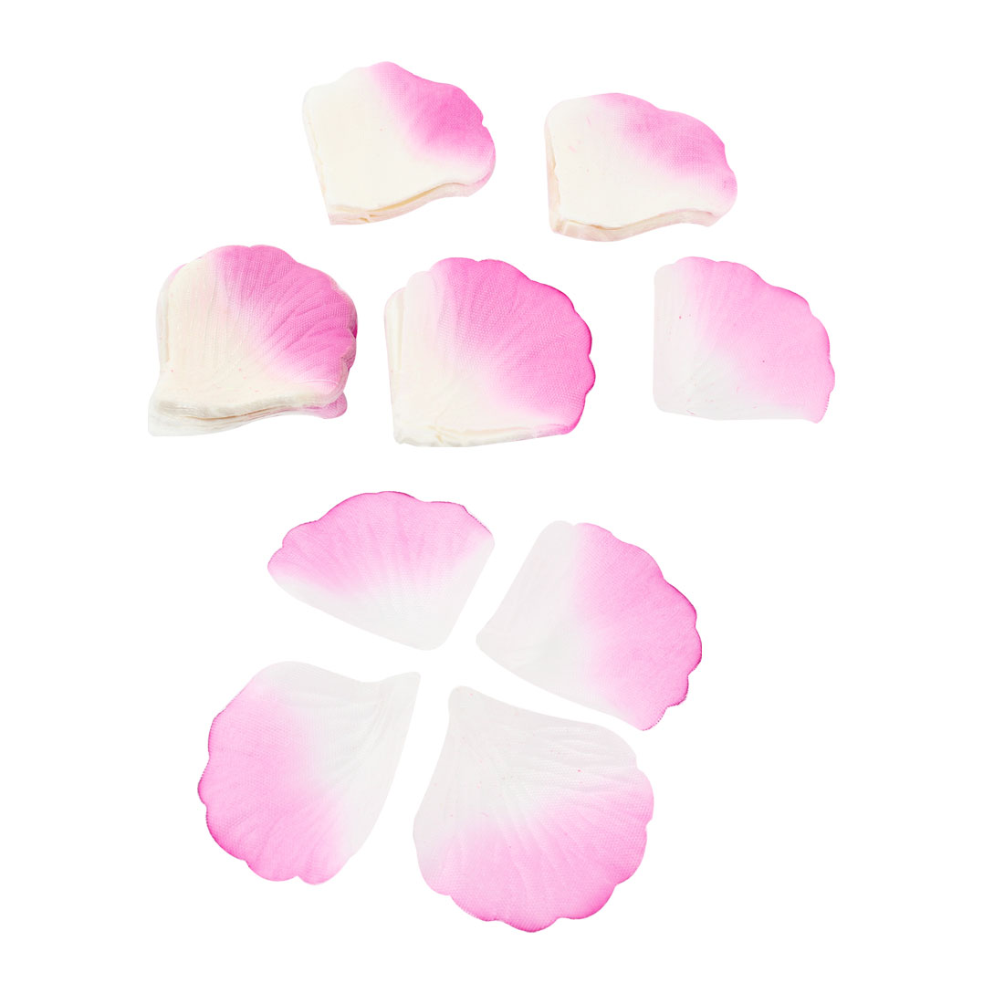 200 Pcs Artificial Fabric Rose Petal Decoration for Wedding Festival Bridal