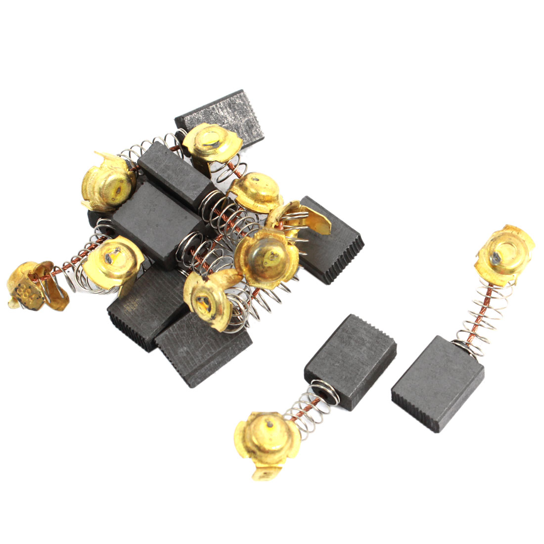 10 Pcs Spare Part Electric Drill Motor 16mm x 13mm x 7mm Carbon Brushes