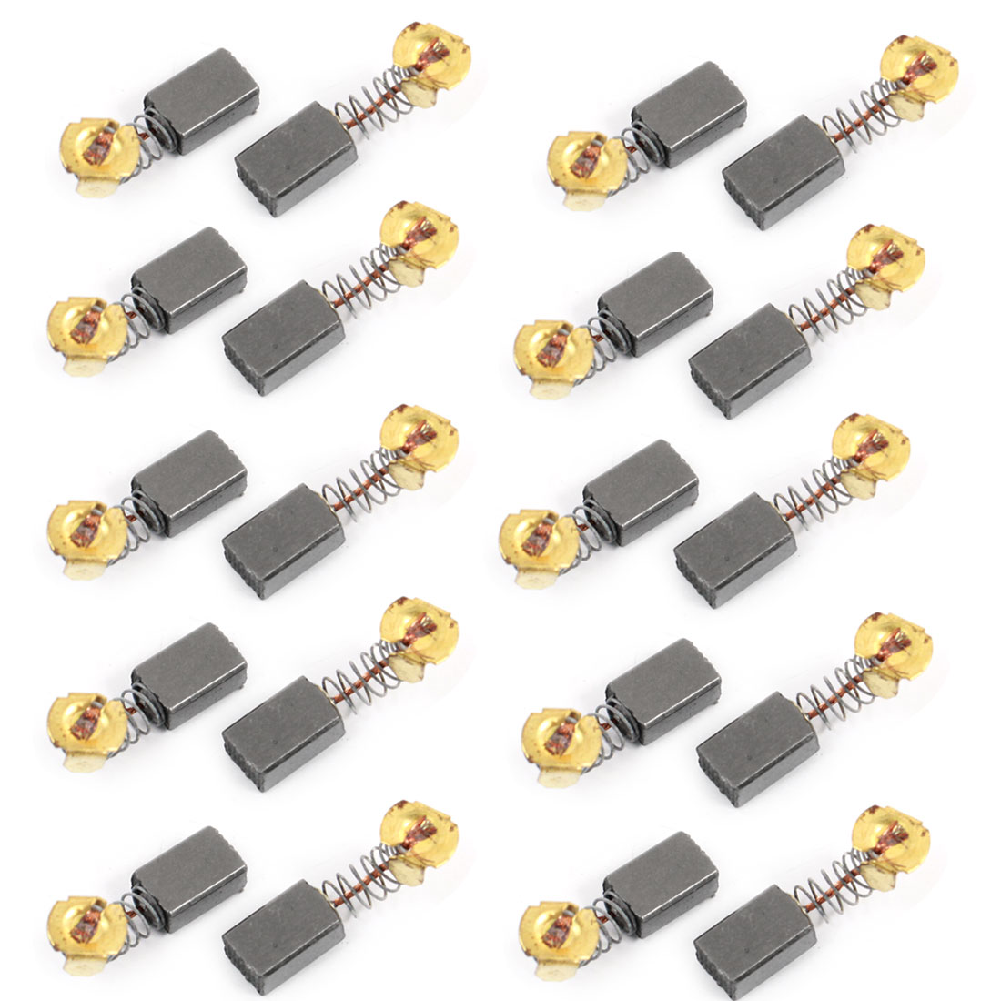 20 Pcs Spare Part Electric Drill Motor 14mm x 8mm x 7mm CB51 Carbon Brushes