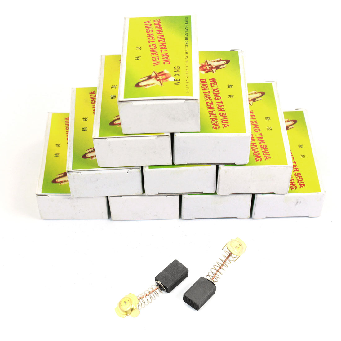 20 Pcs Spare Part Electric Drill Motor 16mm x 11mm x 7mm Carbon Brushes