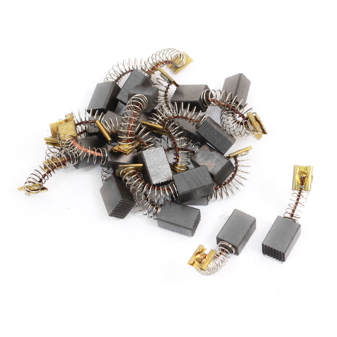20 Pcs Spare Part Electric Drill Motor 12mm x 8mm x 6mm Carbon Brushes