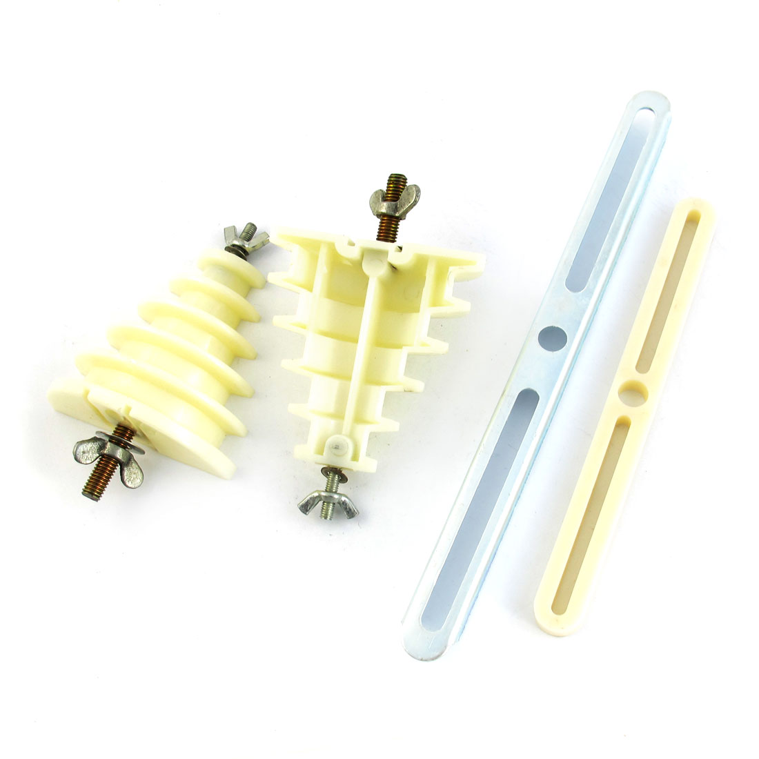 Beige Plastic Single Phase 5 Layer Coil Wire Winding Mould Head Holder