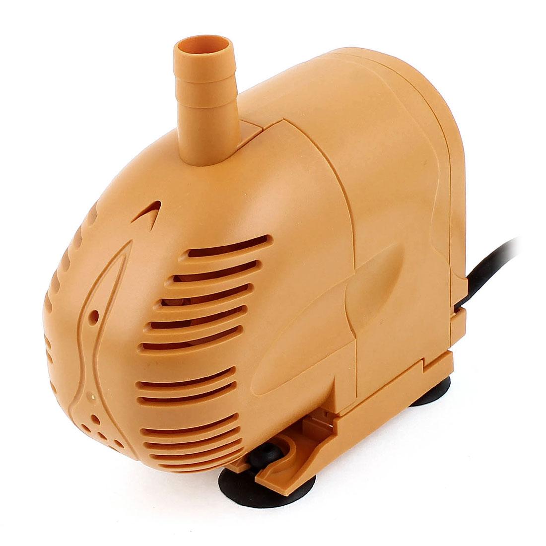 AC 220-240V UK Plug 25W 1500L/H Flowrate Fish Tank Submersible Pump