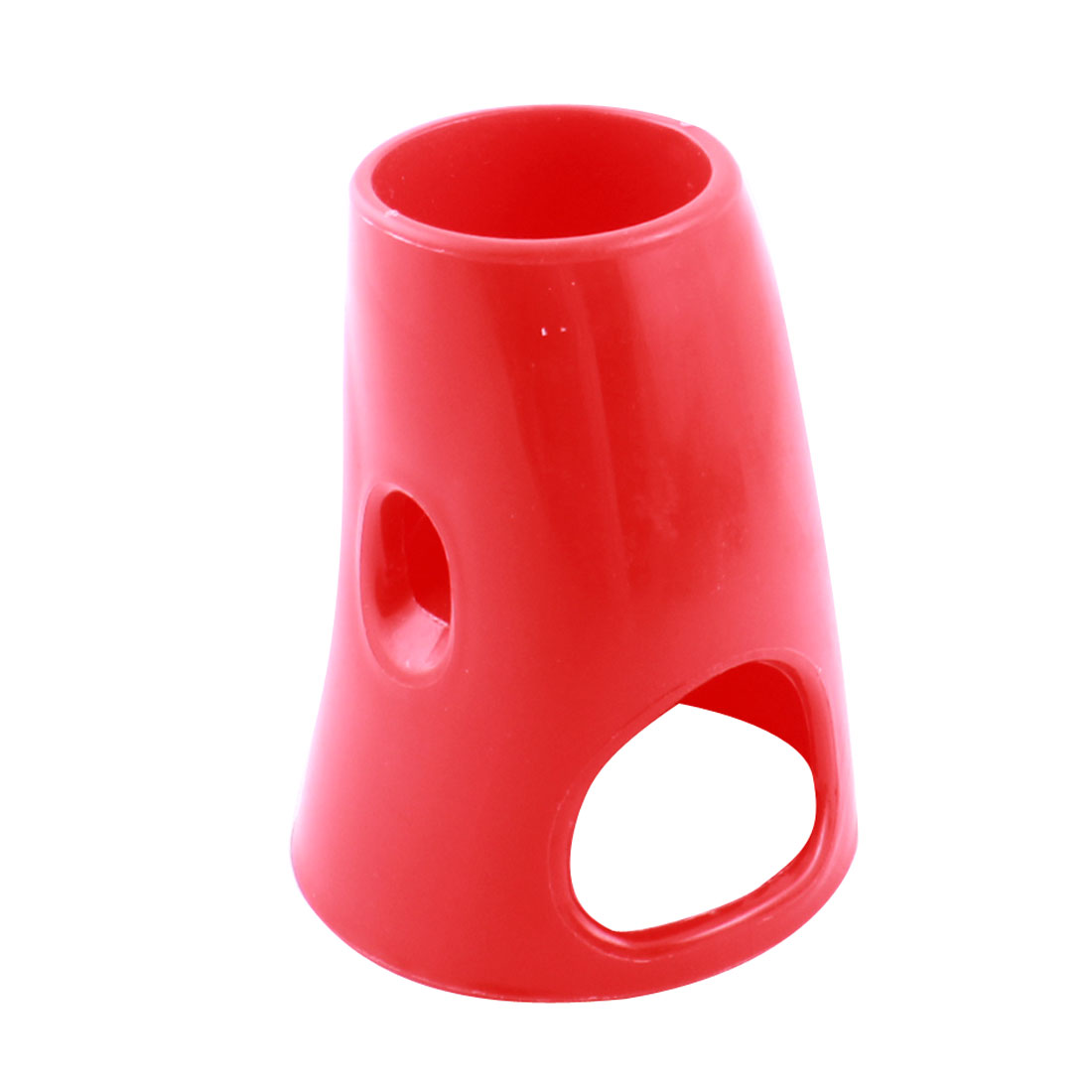 Red Plastic Water Bottle Base Holder Stand + Hut Hideout Cage House 2 in 1 for Small Animal Pet Hamster Gerbil Mouse
