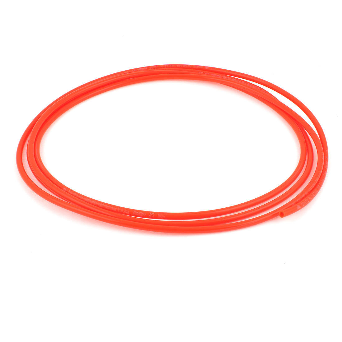 Polyurethane PU Air Compressor Hose Tube 3 Meter 6mm x 4mm Red