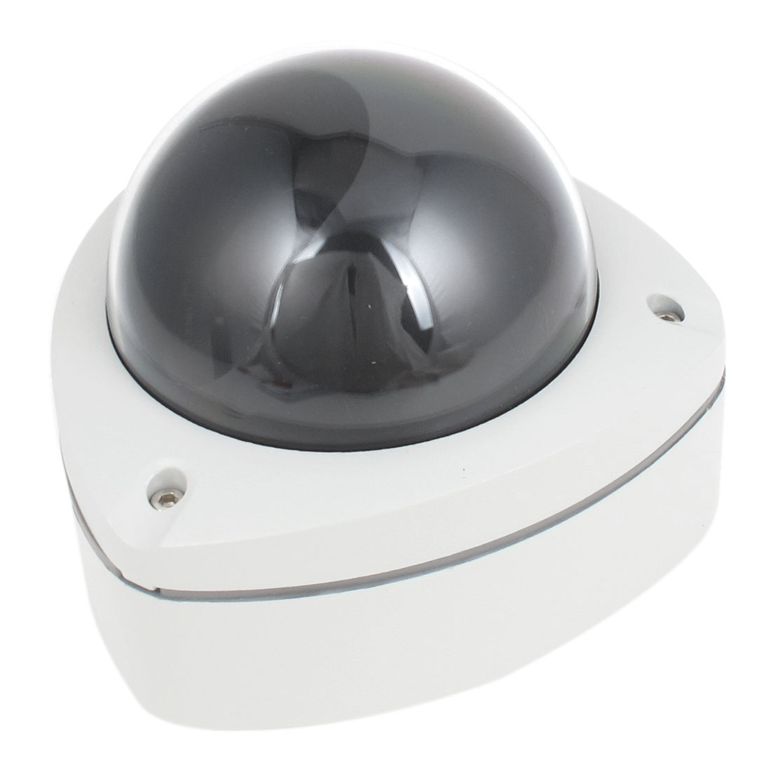 Gray Aluminum Triangular Hemisphere CCTV Dome Camera Housing Case