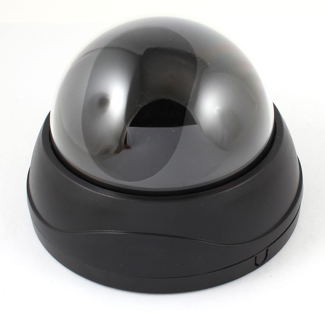 Surveillance Black Plastic CCTV Dome Camera Housing Case 13cm Dia