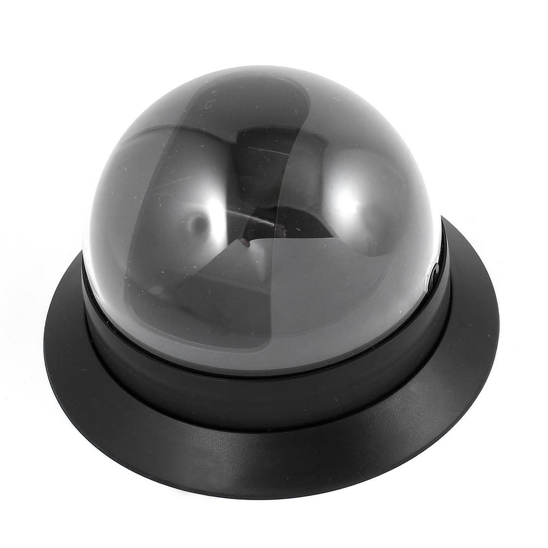 Indoor Surveillance Black Plastic CCTV Dome Camera Housing Case