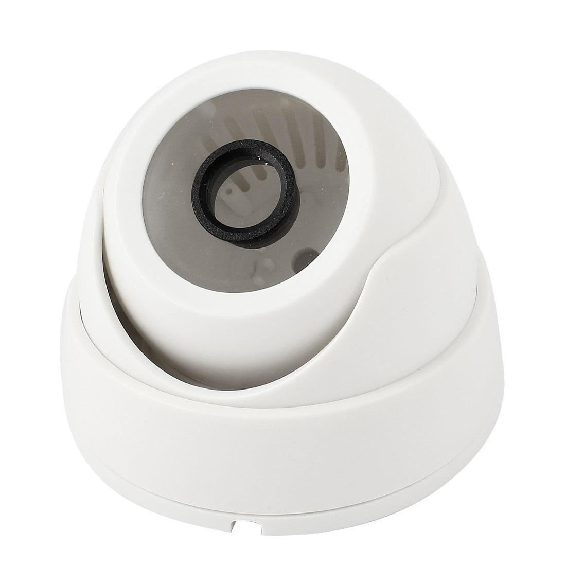"Surveillance White Plastic CCTV Dome Camera Housing Case 3.7"" Dia"