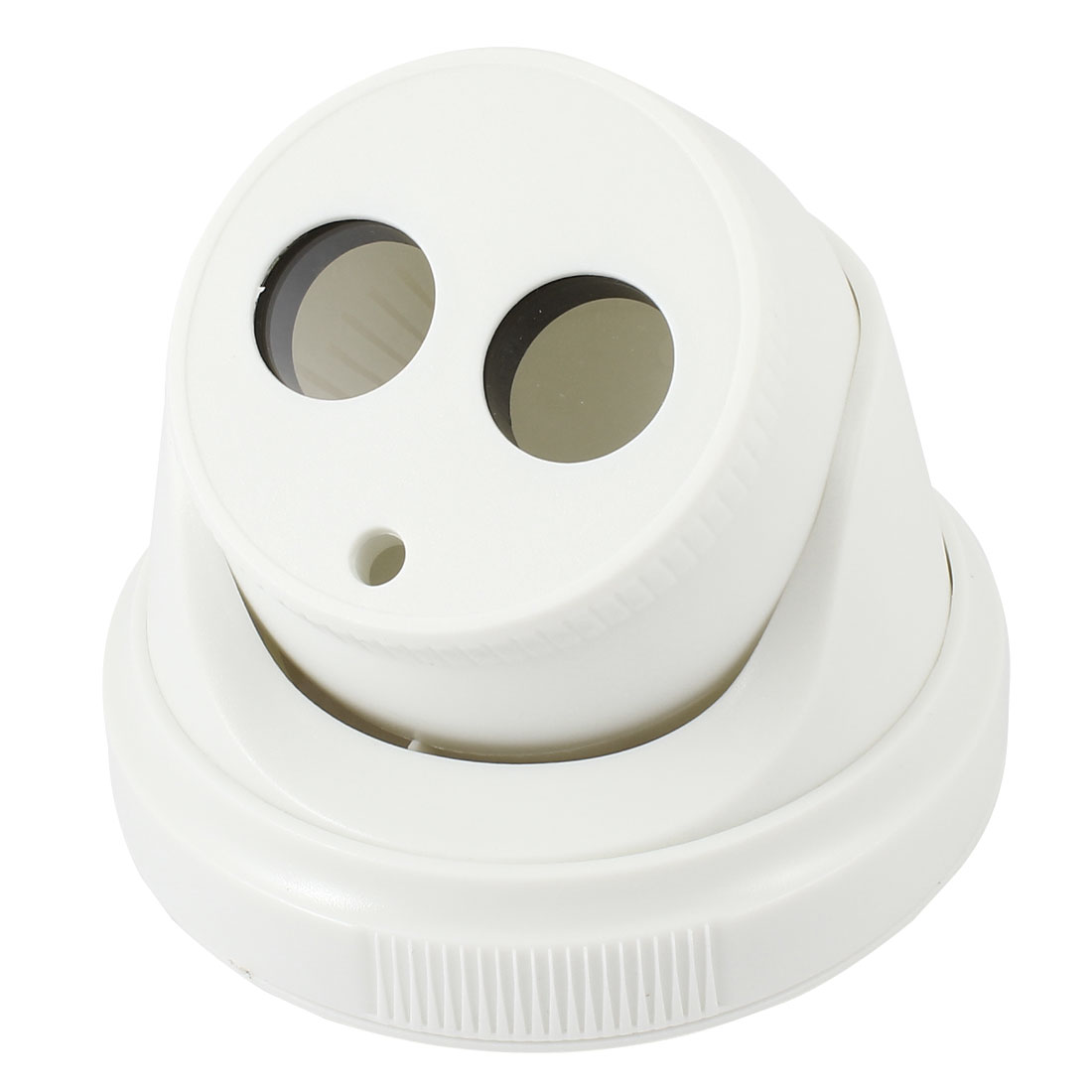 Surveillance White Plastic Array CCTV Dome Camera Housing Case