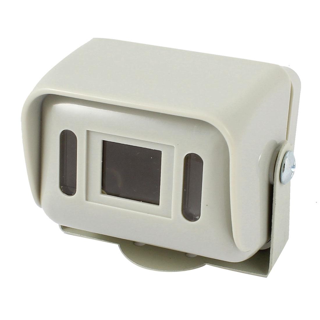 Car Rear View Surveillance Gray Plastic CCTV Camera Housing Case