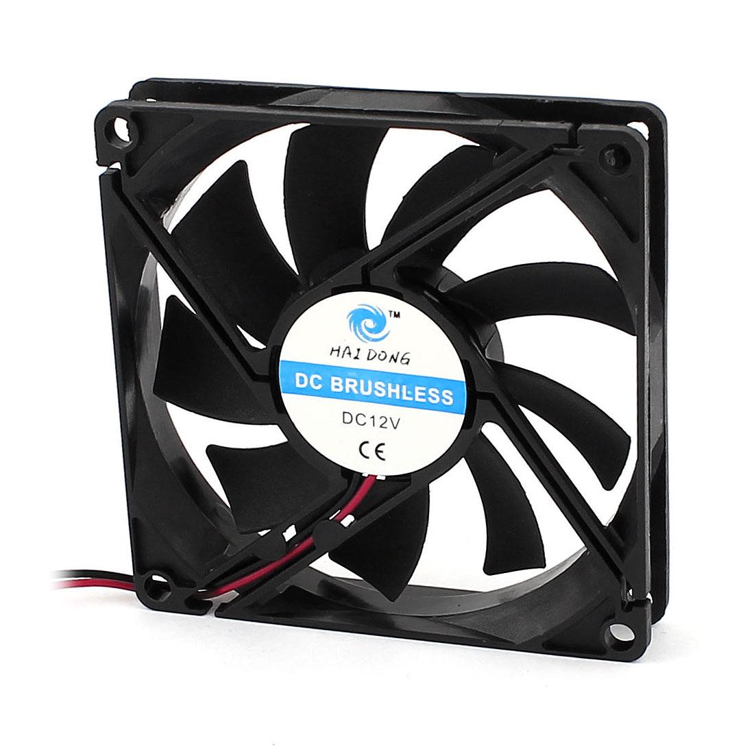 DC 12V 8015 80mmx80mmx15mm Case Cooling Fan CPU Cooler w Dustproof Mesh