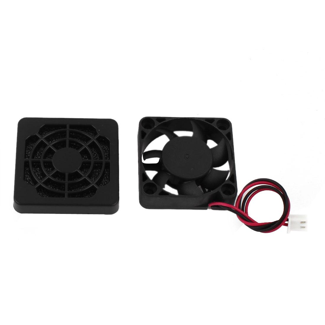 40mm x 10mm 4010 DC 24V Brushless PC Case Cooling Fan w Dustproof Mesh