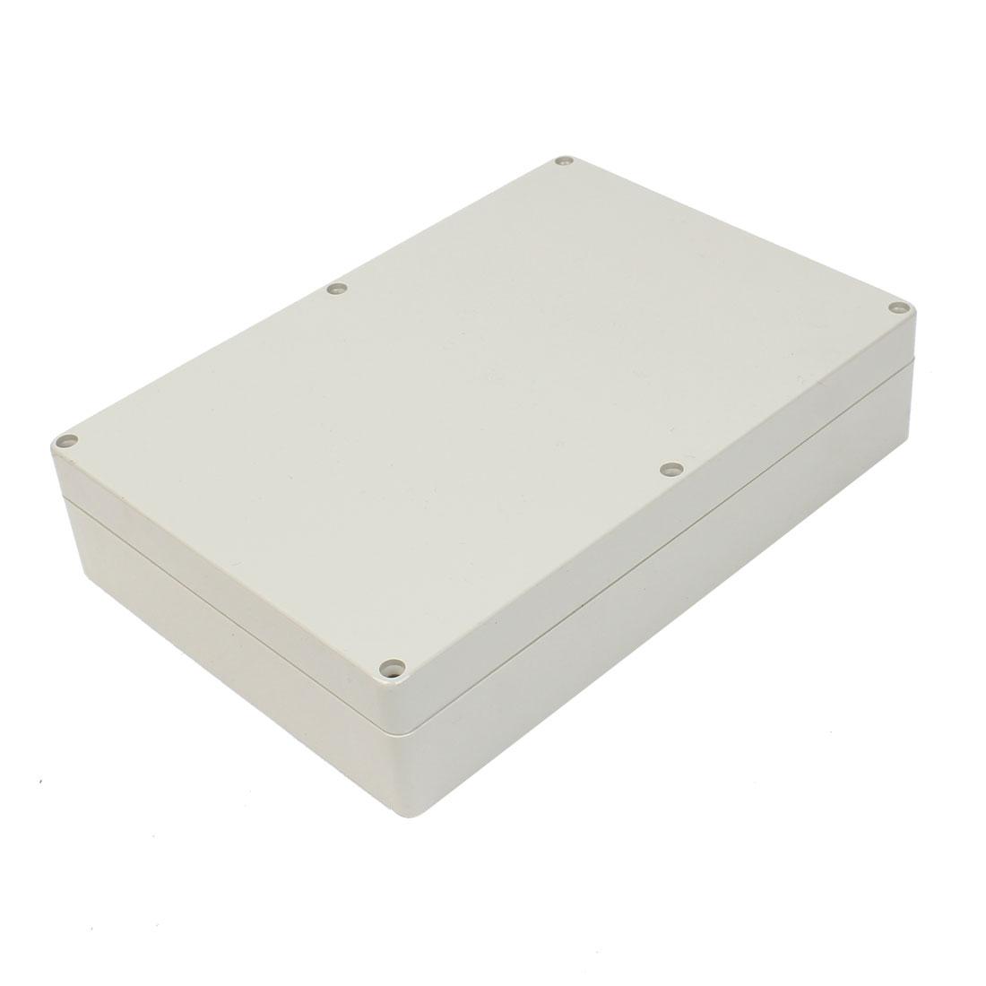Rectangular Plastic DIY Junction Box Case 265 x 185 x 60mm