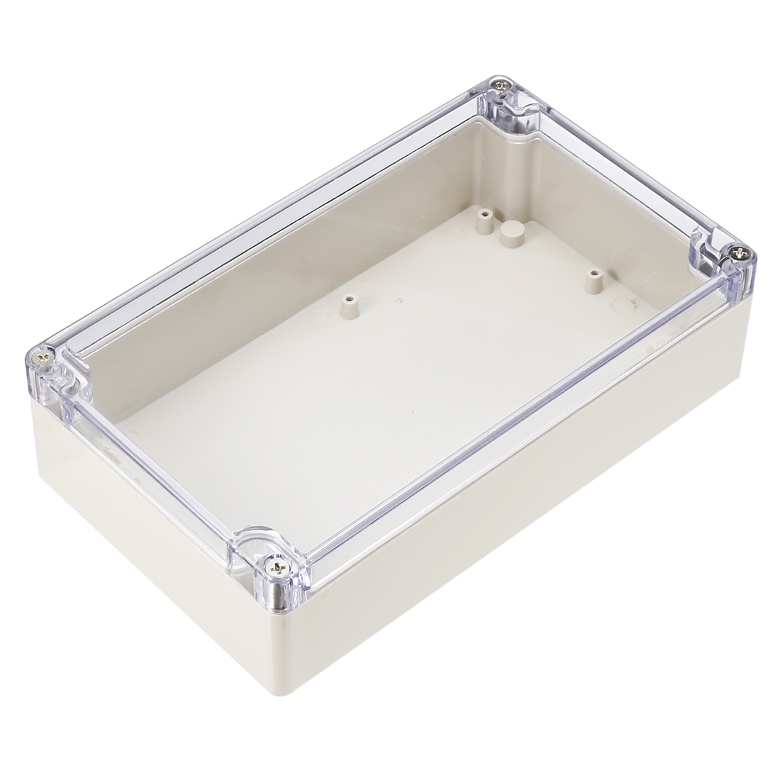 Clear Waterproof Cable Connect Electric Switch Junction Box 200 x 120 x 55mm
