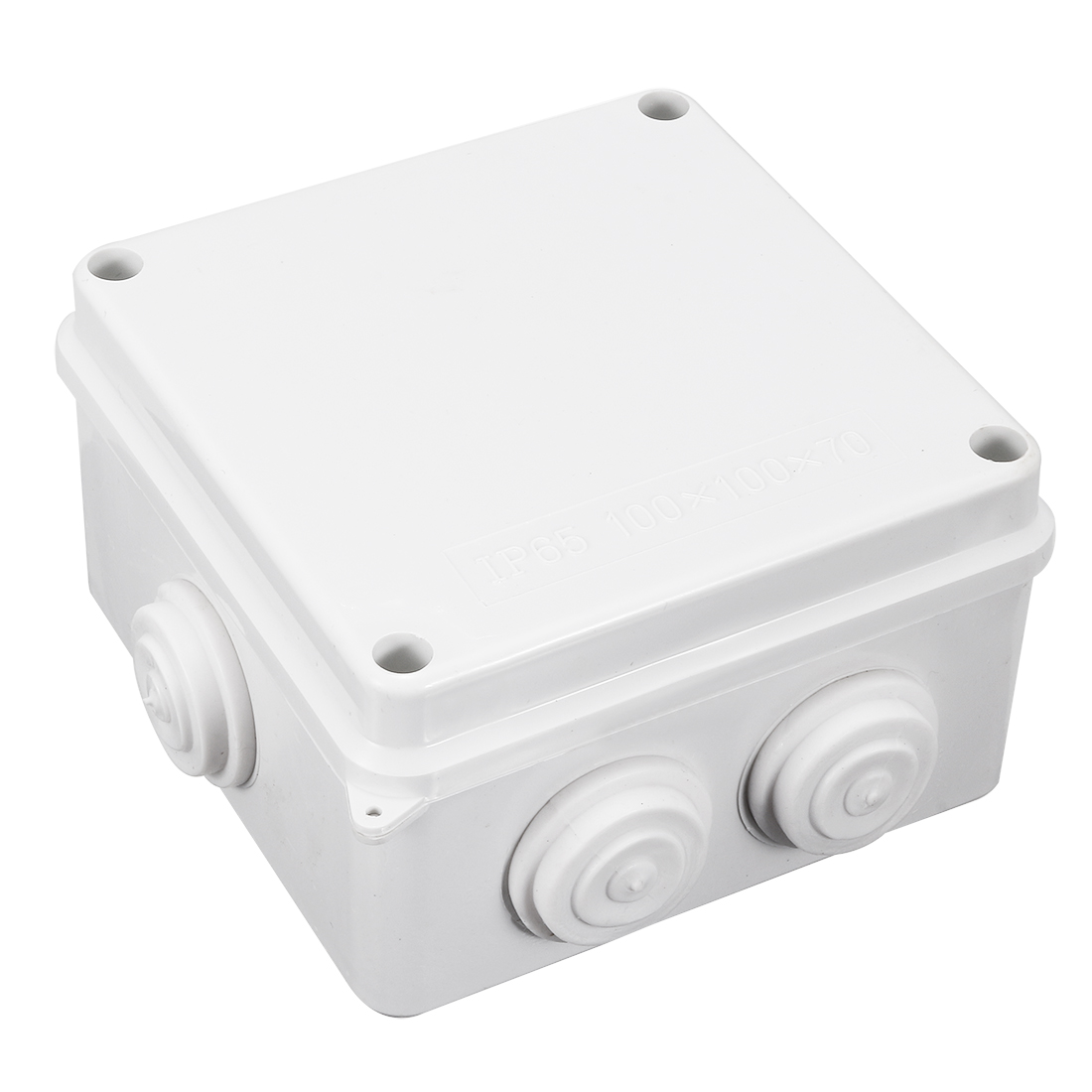 "3.94"" x 3.94"" x 2.76""(100mmx100mmx70mm) ABS Junction Box Universal Project Enclosure"