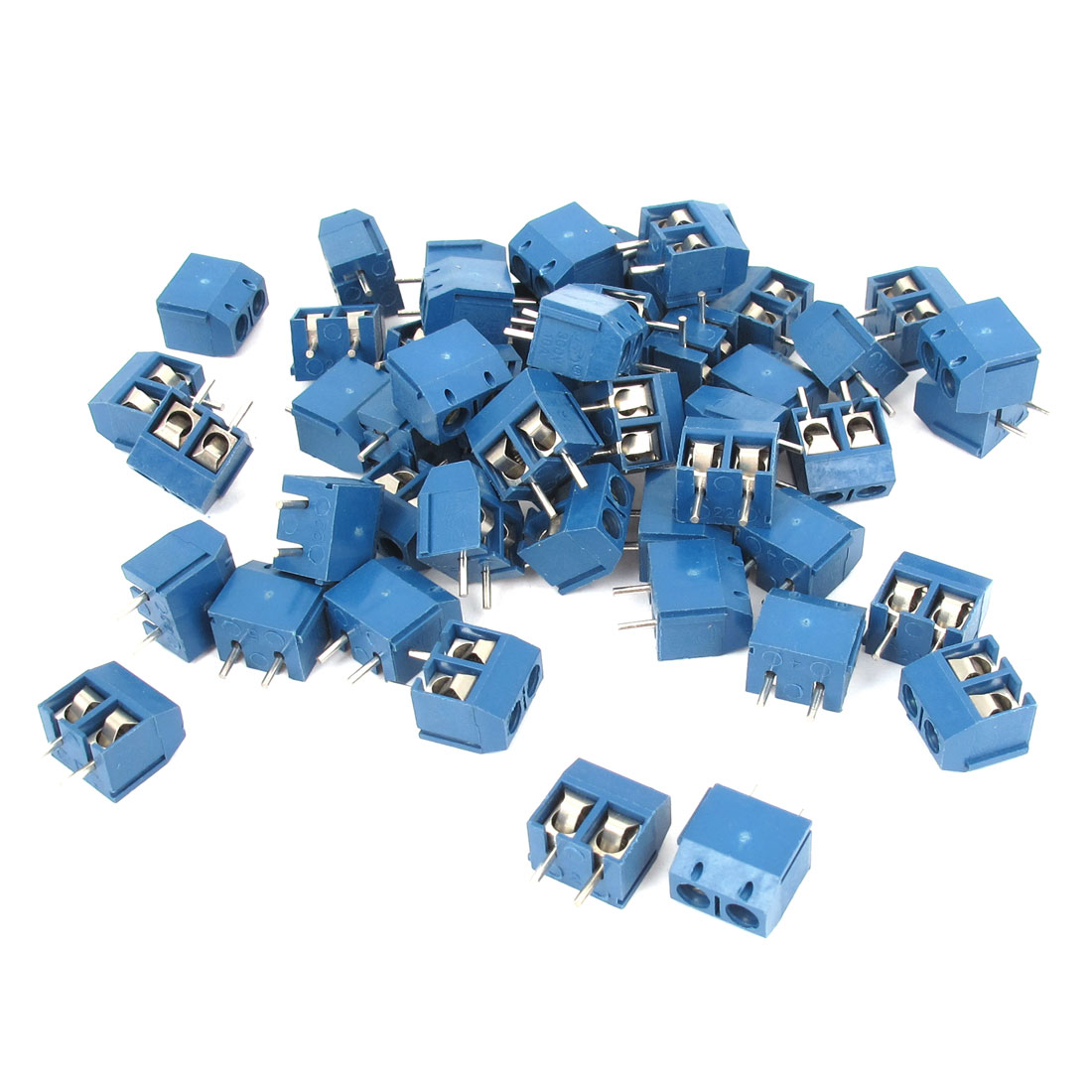 20 Pcs 5mm Pitch PCB Screw Terminal Block Connector 300V 10A