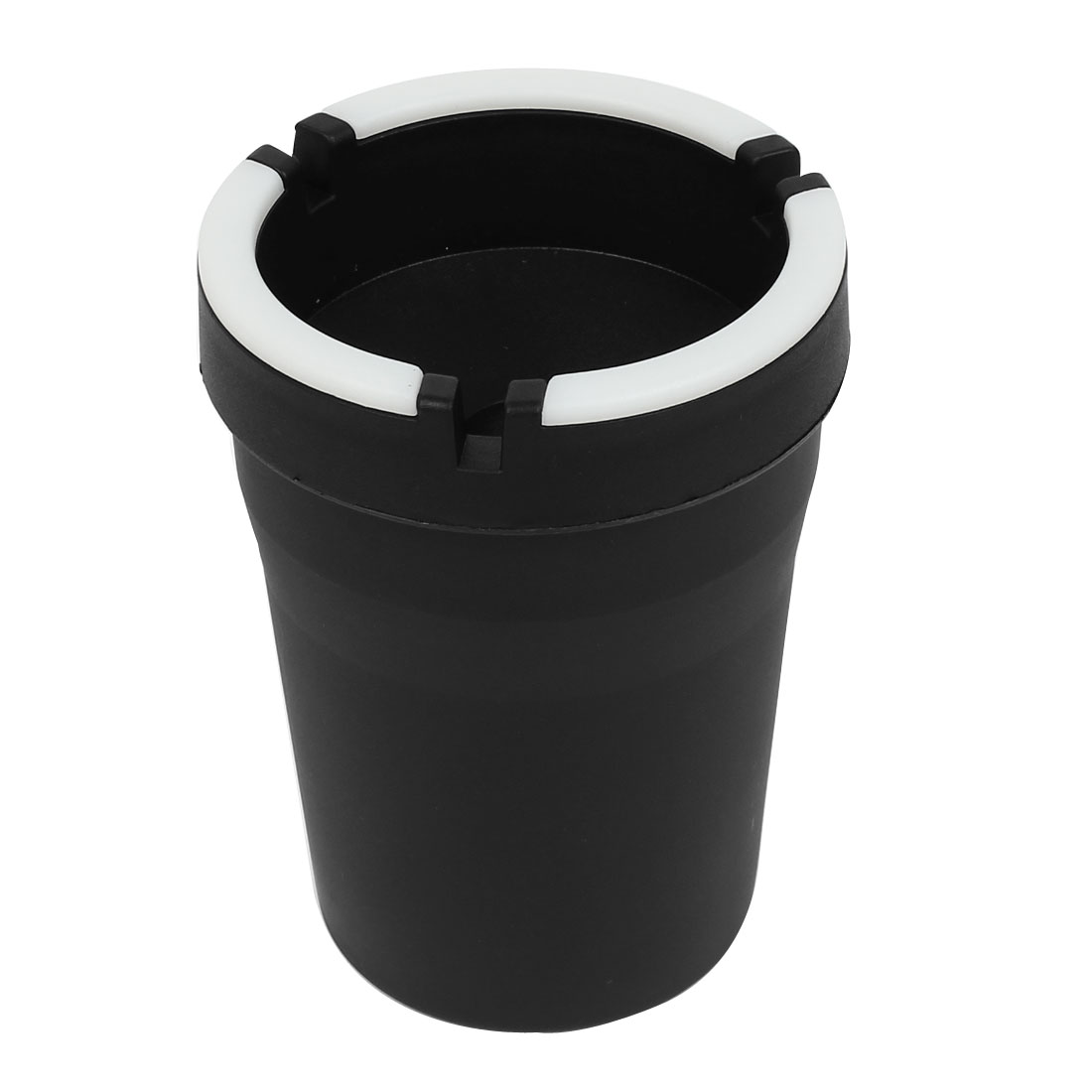 Auto Car White Black Noctilucence Cup Cigarette Container Cigar Holder Ashtray Ash Tray