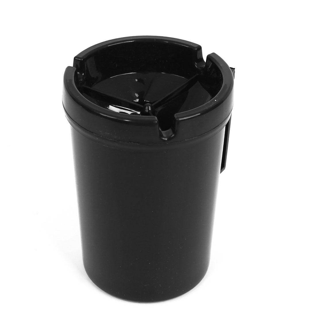 Car Black 3 Groove Cup Shape Cigar Cigarette Ash Holder Container Ashtray