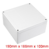 "7.48""x7.28""x3.94""(190mmx185mmx100mm)ABS Junction Box Universal Project Enclosure"