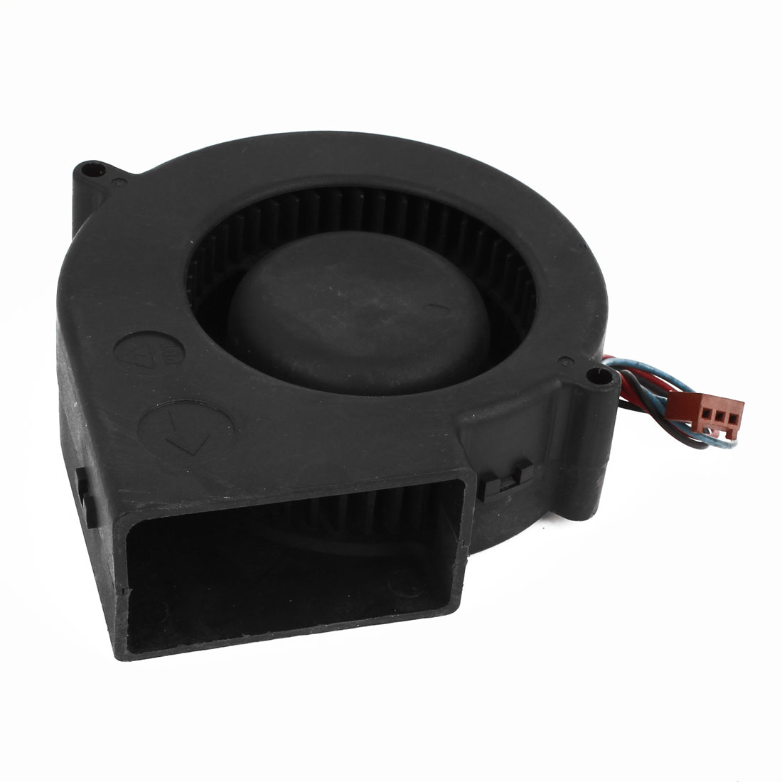 Notebook PC 3 Terminals Connector CPU Cooler Cooling Blower Fan Black DC 220V
