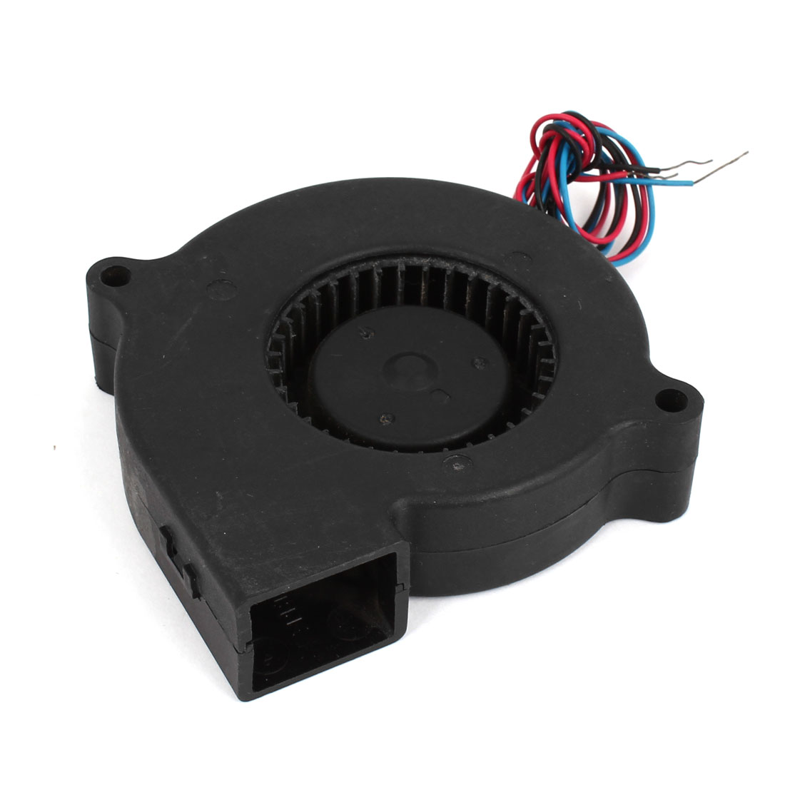Notebook PC Wired CPU Cooler Cooling Blower Fan Black DC 24V