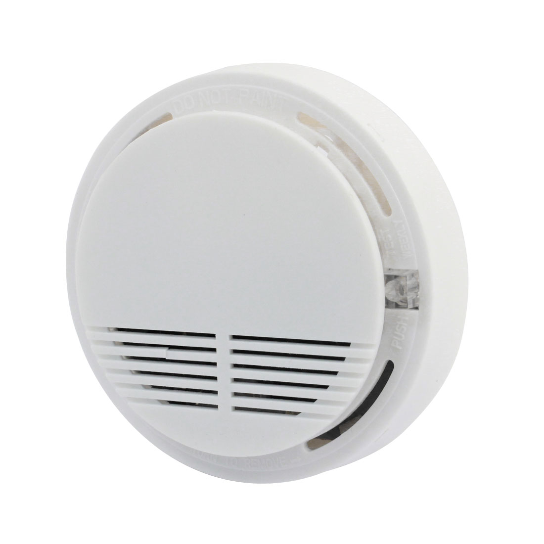 Photoelectric Wireless Smoke Detector Sensor Fire Alarm 10.5cm x 3cm