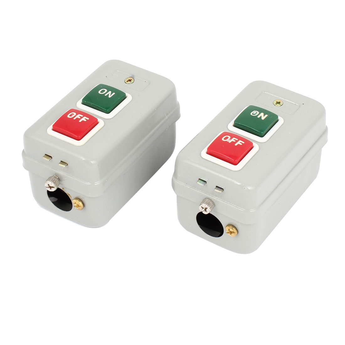 2PCS ON OFF Control 3 Phases Latching Pushbutton Switch ZT-16HD AC 220V