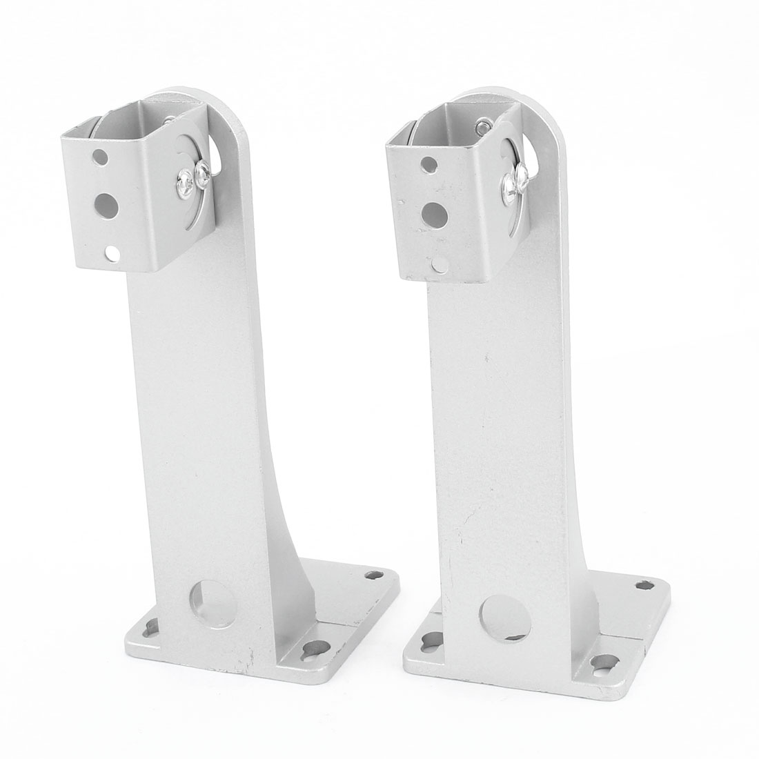 2 Pcs Aluminum Alloy Ceiling Mount Bracket Stand for CCTV Security Camera