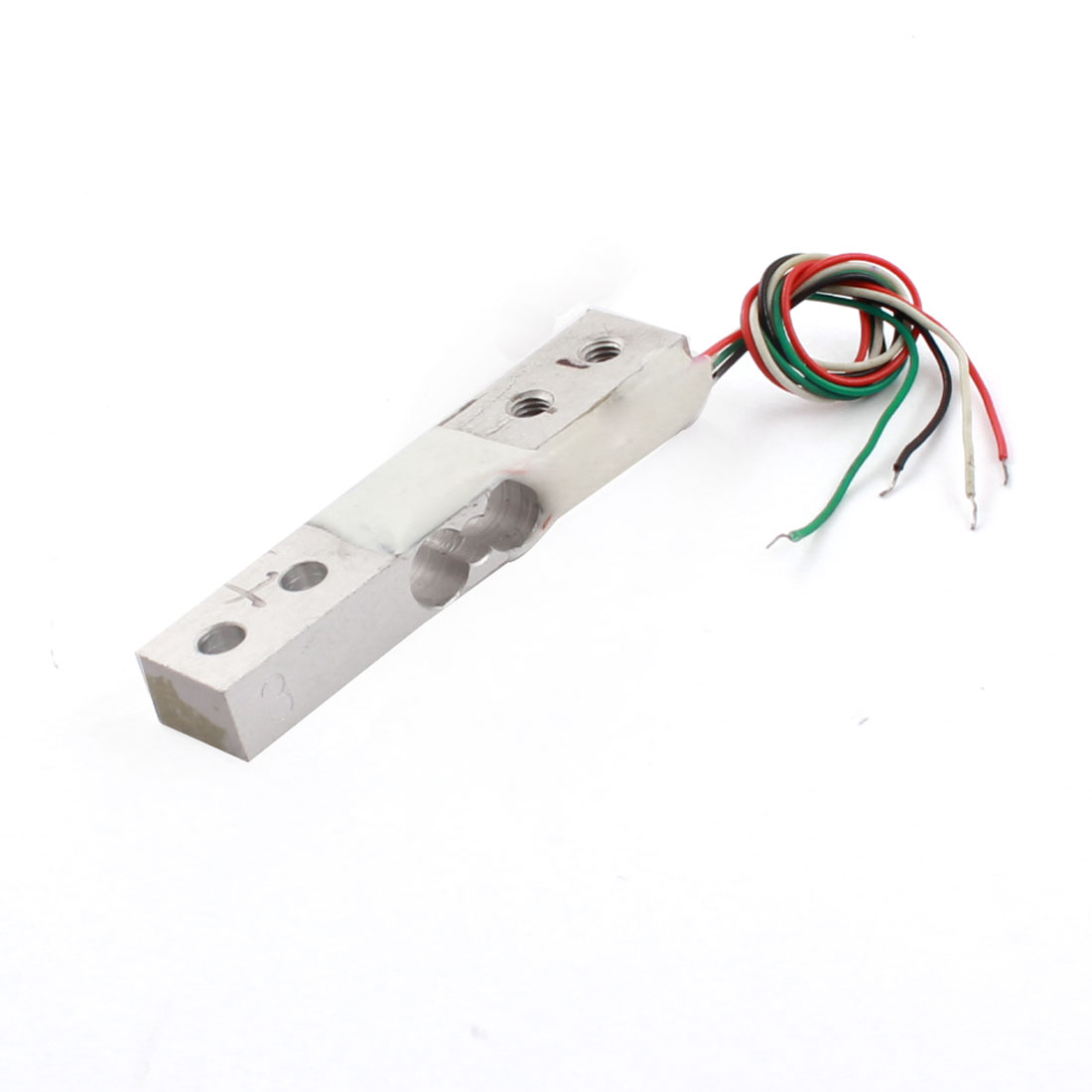 300g 0.66lb 4-Wired Rectangle Aluminium Alloy Single Ended Platform Scale Micro Load Cell Weighting Pressure Sensor