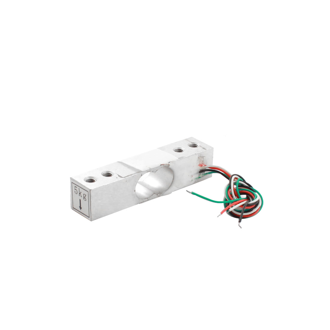 Single Point Parallel Beam Electronic Scale Part Rectangle Aluminium Alloy Load Cell Weight Sensor 5KG 11lb YZC-136C/2