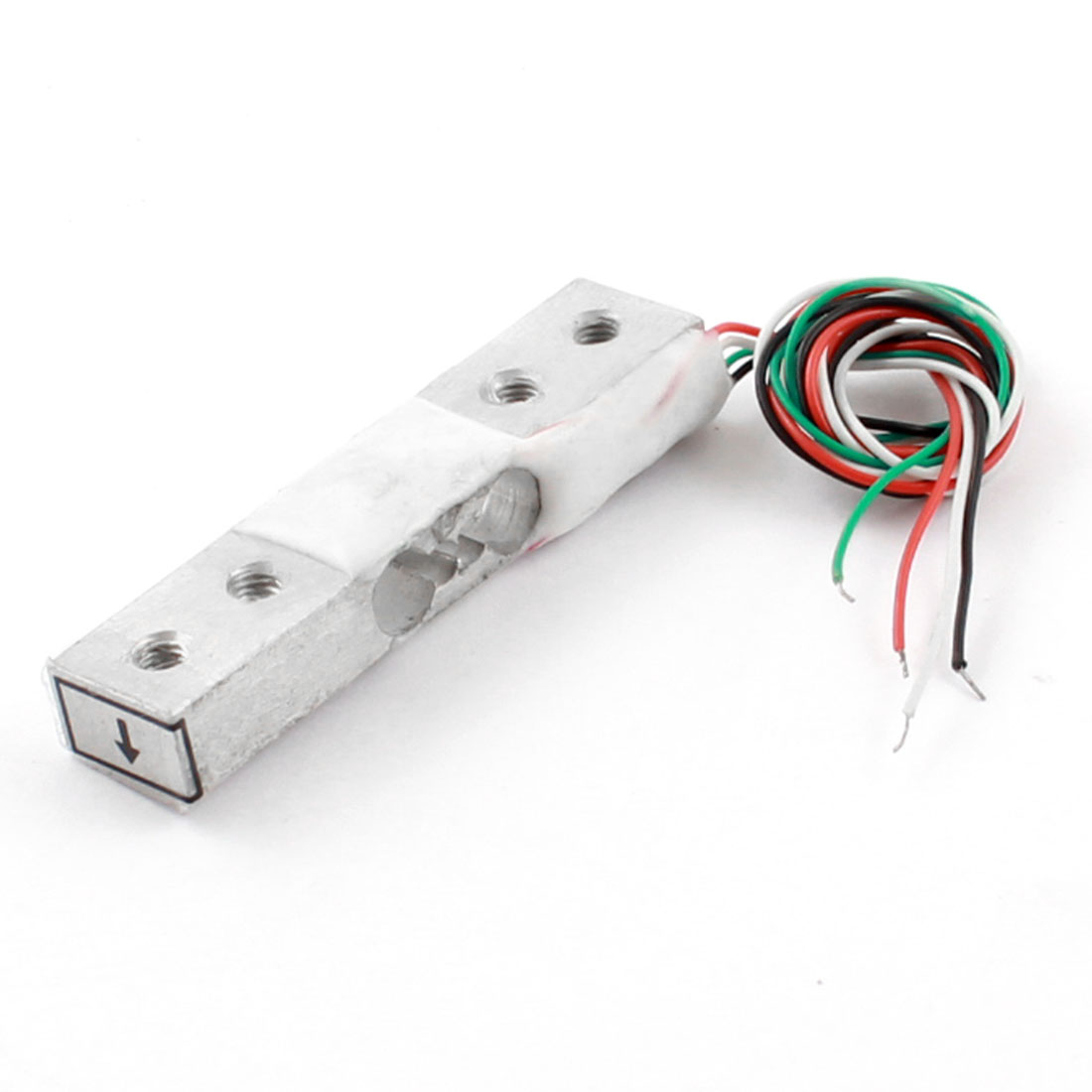 500g 1.1lb 4-Wired Rectangle Aluminium Alloy Platform Scale Micro Load Cell Weighting Pressure Sensor