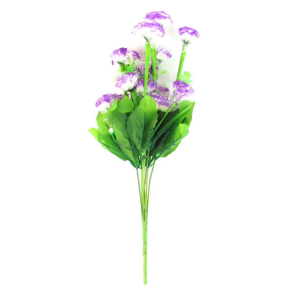 Artificial Fabric Simulation Flowers Bouquet Purple Wedding Party Decor