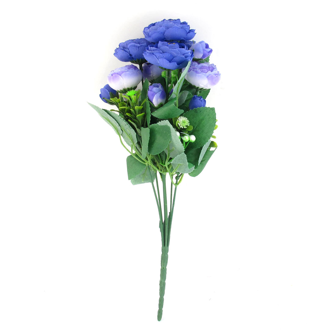 Artificial Emulational Purple Fabric Peony Bouquet Wedding Party Ornament