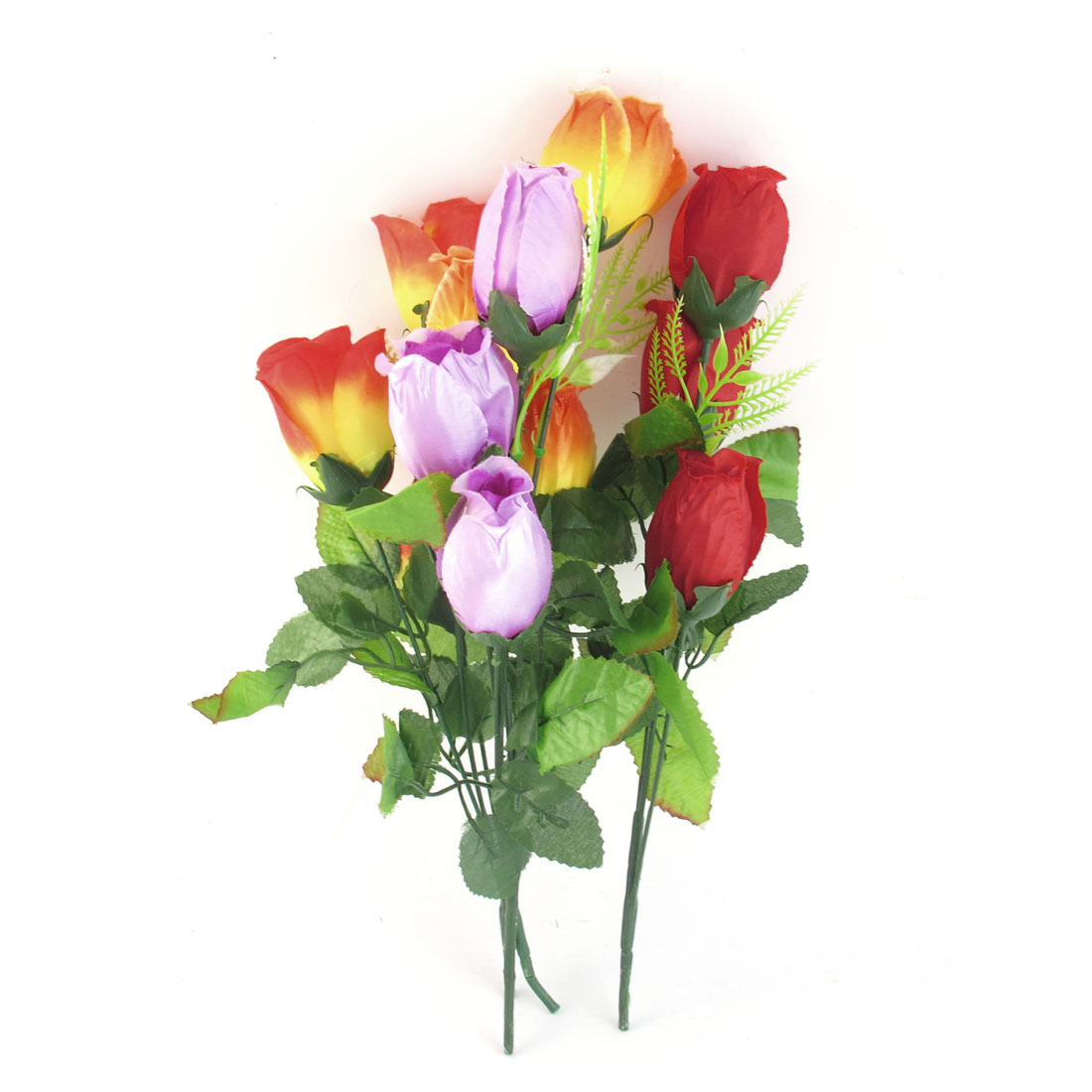 4 Pcs Artificial Simulation Flower Bouquet Wedding Party Ornament