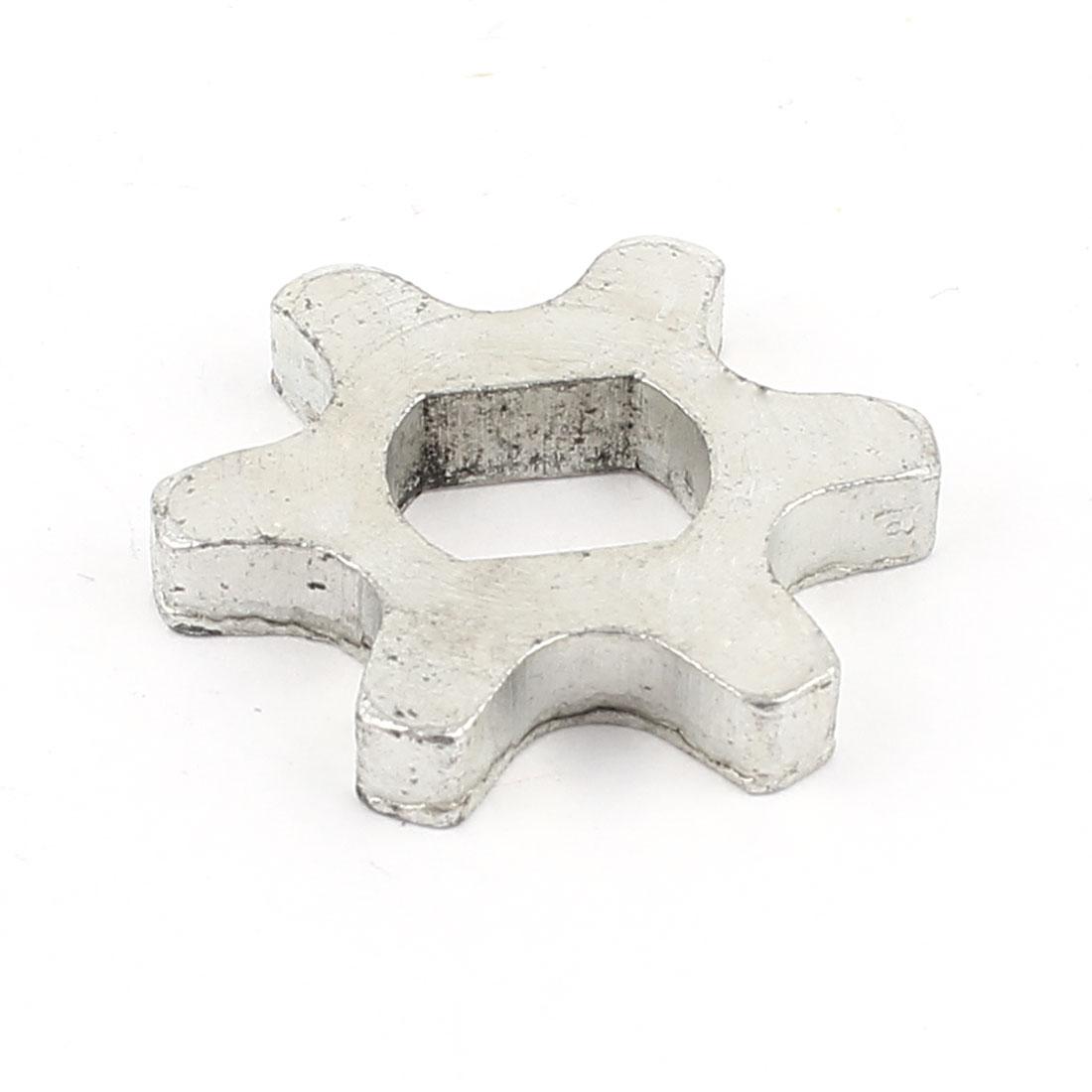 Repair Part 6 Teeth Metal 5016 Sprocket Silver Tone for Electric Hammer