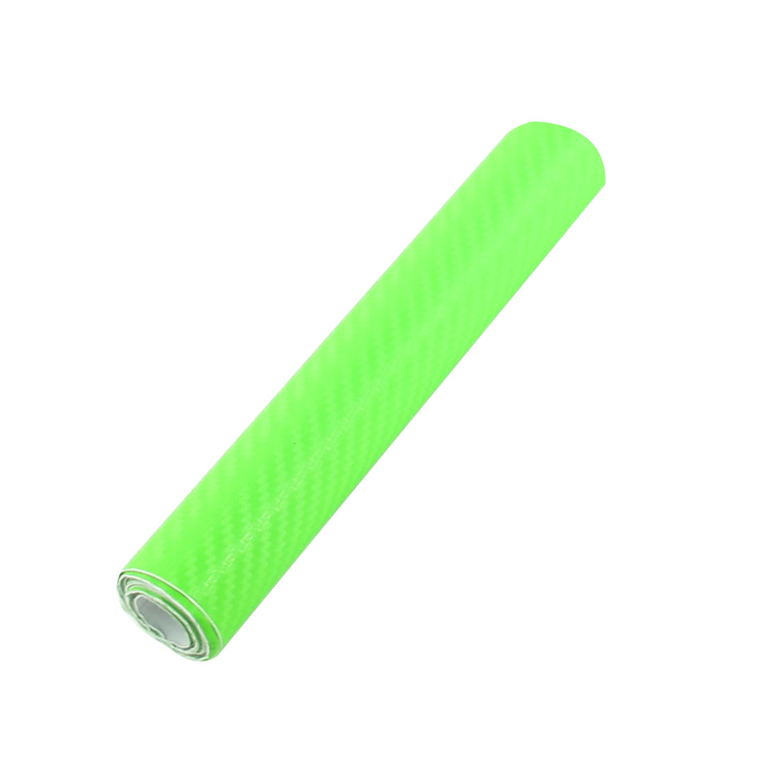 "7.5"" x 59"" 3D Texture Green Carbon Fiber Sticker Vinyl Flexible Decal Film Wrap"