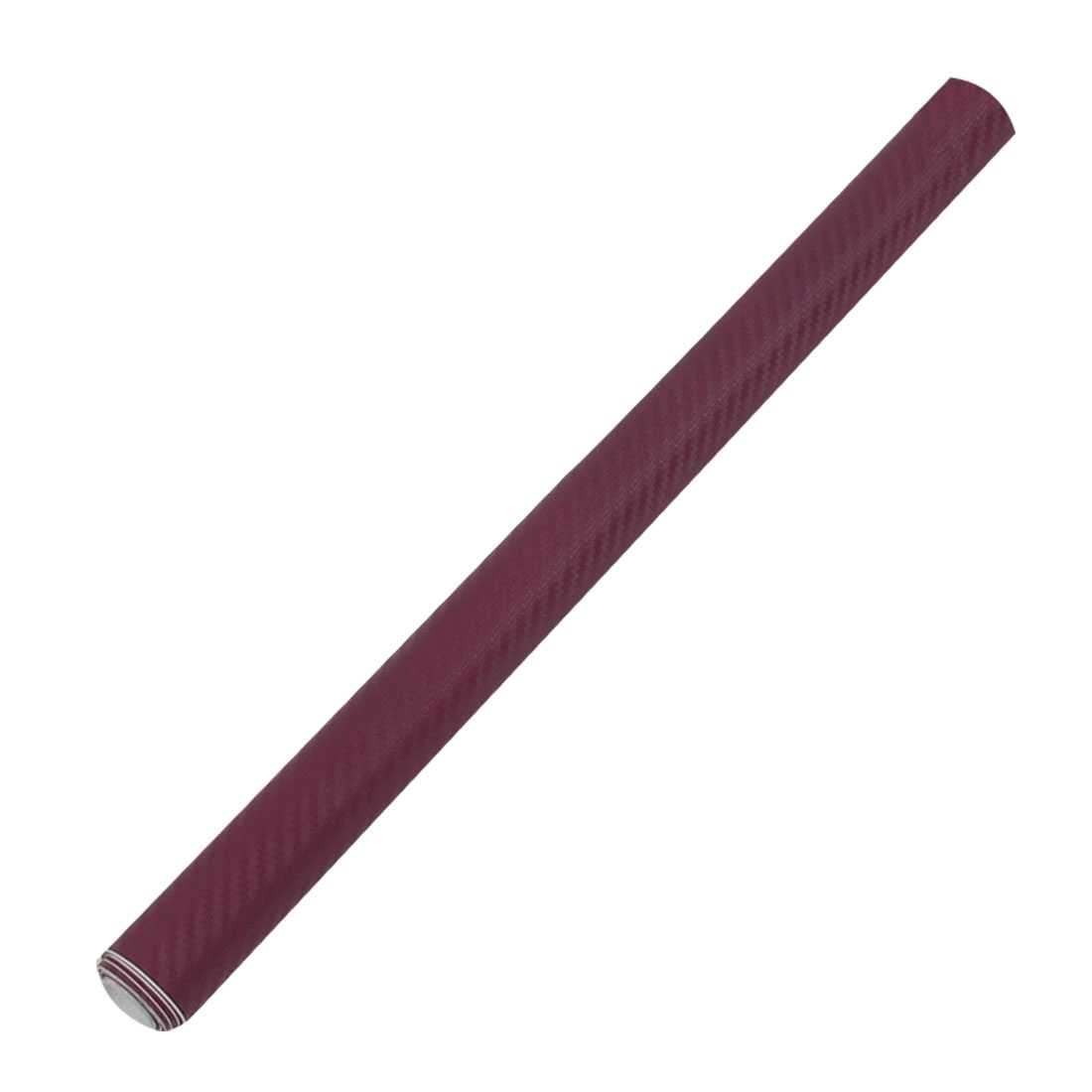"24"" x 50"" 3D Texture Burgundy Carbon Fiber Sticker Vinyl Flexible Decal Film Wrap"