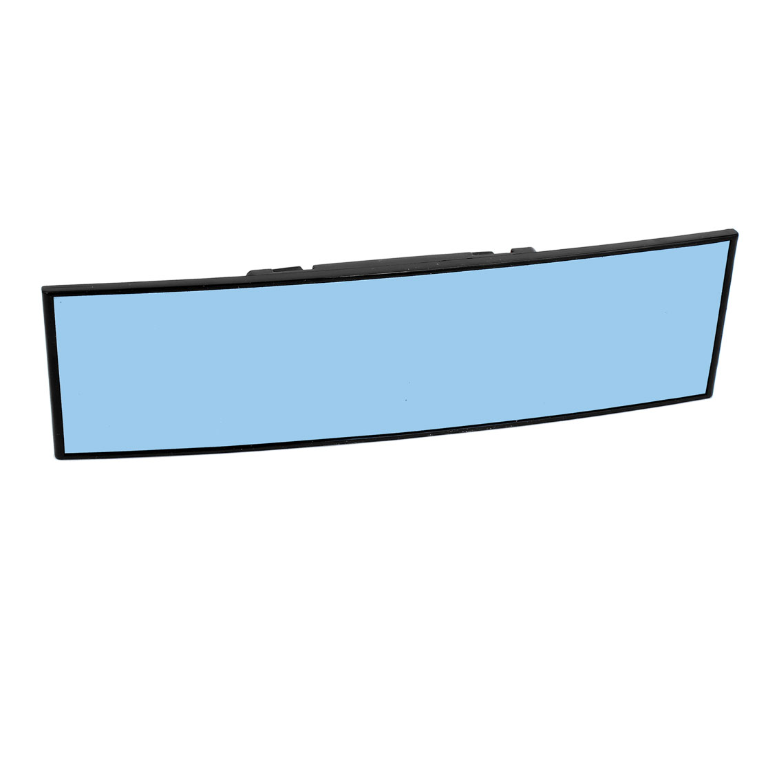 280mm Convex Blue Tinted Interior Clip On Rear View Mirror Universal