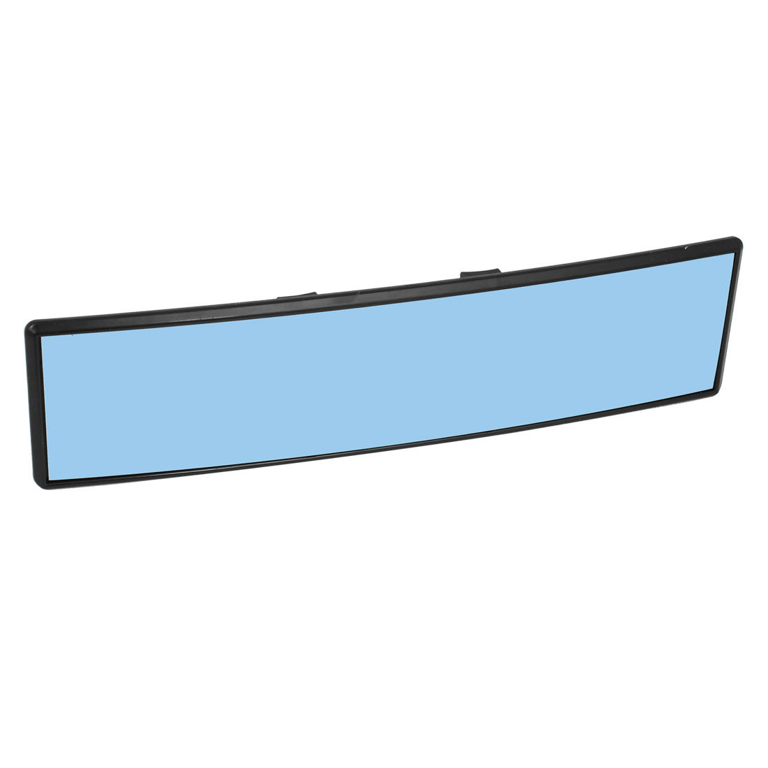 Universal Blue Tinted 300mm Wide Convex Clip On Rear View Mirror for Car Truck SUV