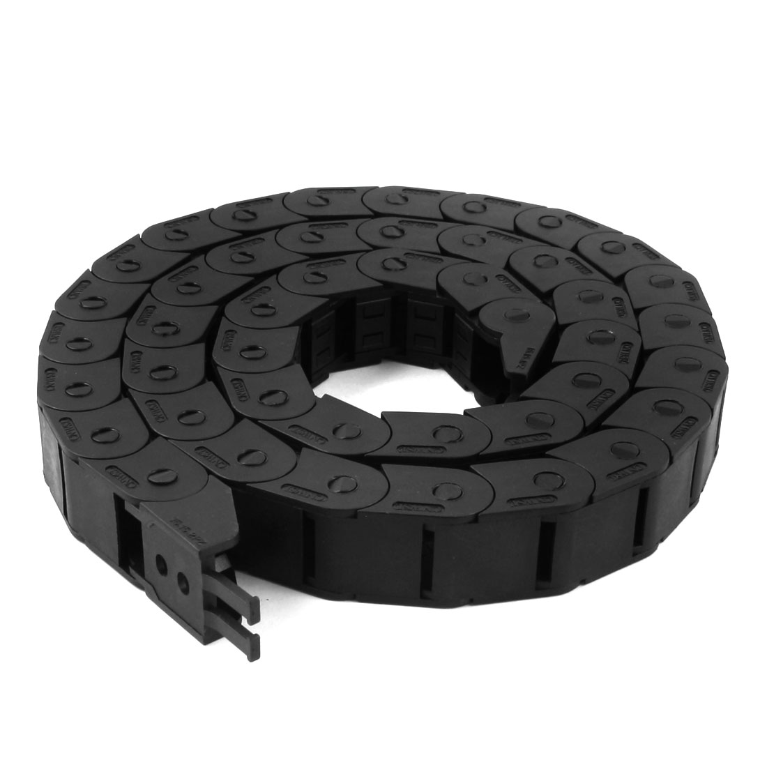 103cm R5.5cm Plastic Open Type Wire Carrier Cable Drag Chain 15mmx15mm