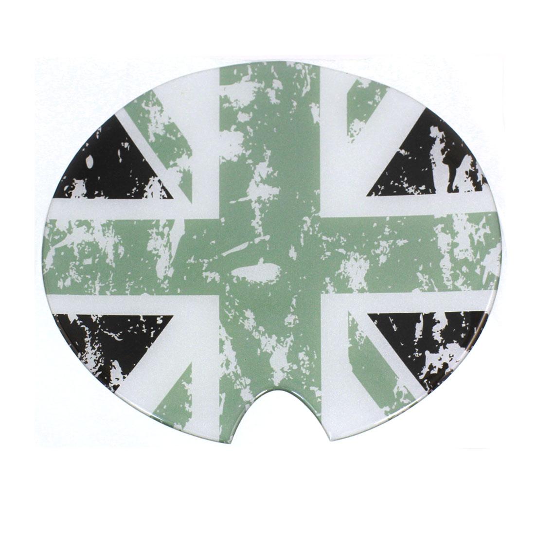 16cm Dia Round Flag Pattern Emblem Badge Decorative Sticker for Auto Car