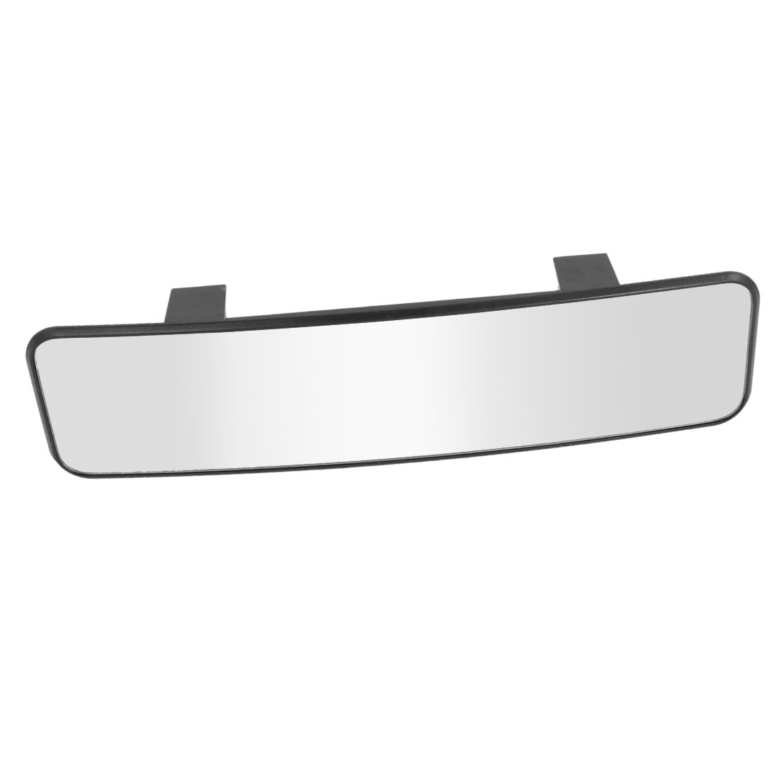 Car Vehicle Interior White Tint Wide Curve Clip On Rear View Mirror